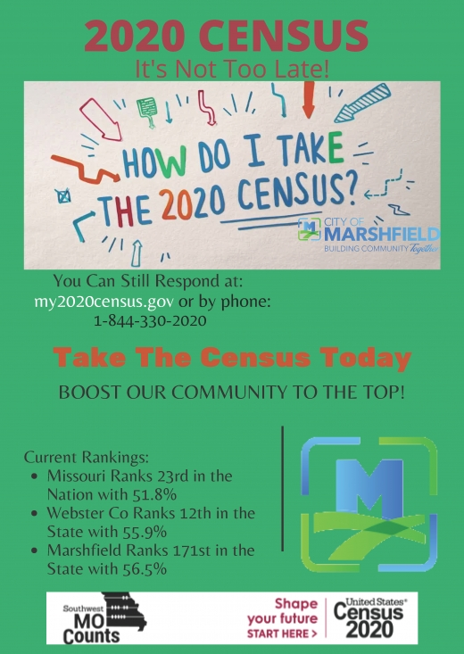 2020 CENSUS REMINDER