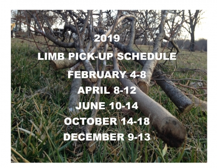 Limb Pick-Up Schedule